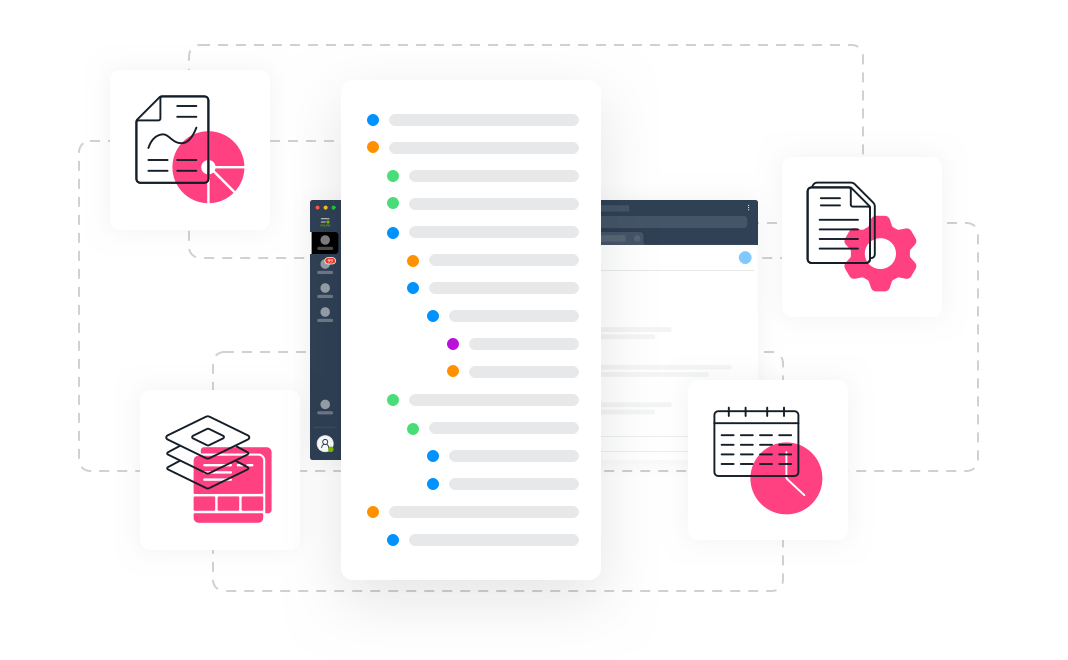 Legal Practice Management processes at Leverice app