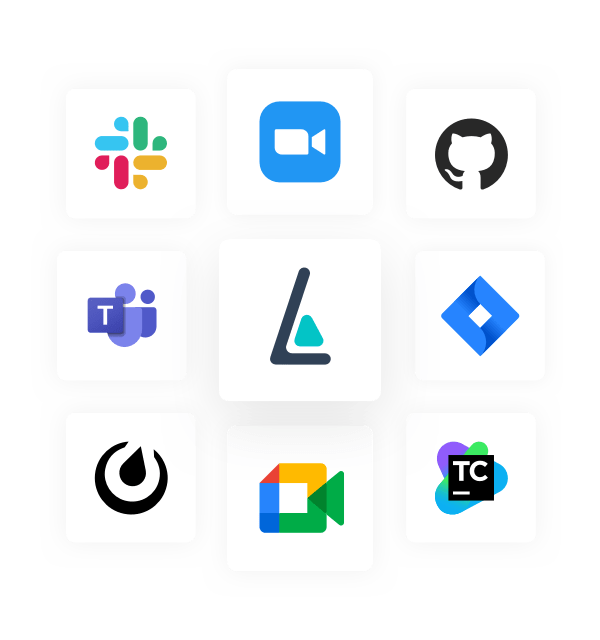 Leverice, Slack and other logos